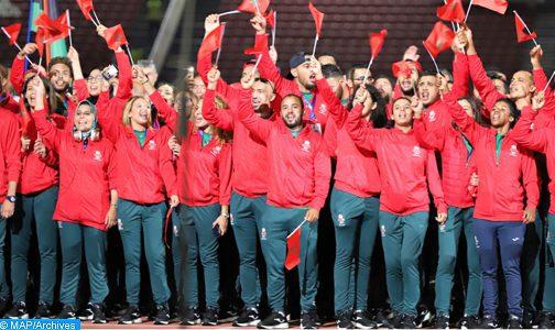 Jeux africains-2019 (classement): Le Maroc conserve sa deuxième place à l'issue de la 2ème journée
