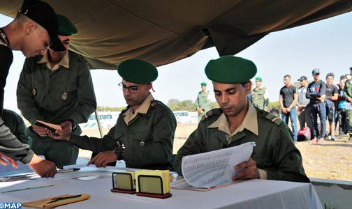 Service militaire : Plus de 900 candidats accueillis en quatre jours à la caserne du 6ème BLIR de Larache
