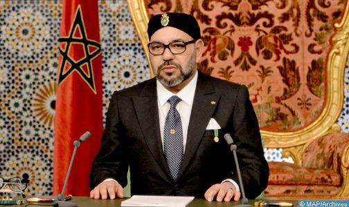 SM le Roi adresse mardi un discours à la Nation à l'occasion du 66e anniversaire de la Révolution du Roi et du Peuple (ministère de la Maison Royale, du Protocole et de la Chancellerie)