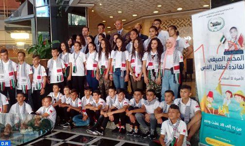 La réception accordée par SAR le Prince Héritier Moulay El Hassan aux enfants maqdessis, un geste Royal à même d'imprimer une forte impulsion à l'action de l'agence (Salem Charkaoui)
