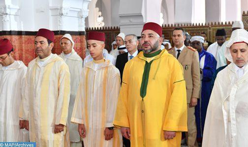 SM le Roi, Amir Al Mouminine, accomplira lundi la prière de l'Aïd Al Adha à la mosquée Hassan II à Tétouan