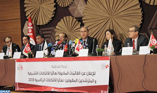 Présidentielle: Démarrage de la campagne électorale en Tunisie avec la participation de 26 candidats