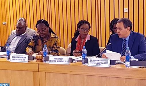Le changement climatique et les préparatifs du Sommet New York au menu d'un réunion des ambassadeurs africains auprès de la CEA-ONU, présidée par le Maroc