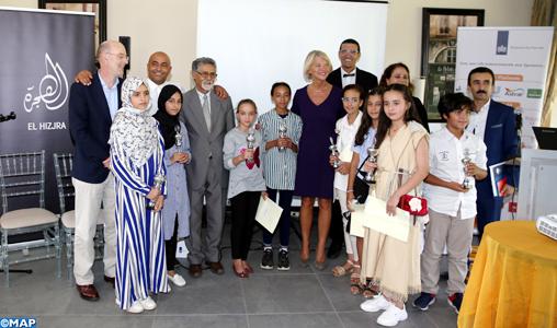 Remise à Rabat des prix d'une compétition d'écriture créative en amazighe pour les jeunes élèves