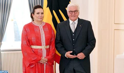 L'ambassadeur de SM le Roi en Allemagne remet ses lettres de créance au président Frank-Walter Steinmeier