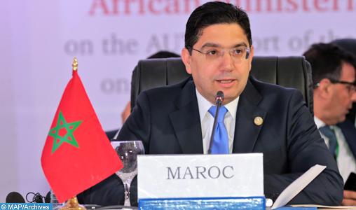 M.Bourita: Le Maroc insiste sur le respect de la souveraineté des Etats