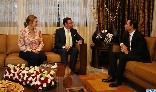 Arrivée au Maroc du Grand-Duc héritier de Luxembourg et de son épouse