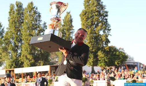 Ghali Boukaa remporte le Grand Prix SM le Roi Mohammed VI du concours officiel de saut d'obstacles
