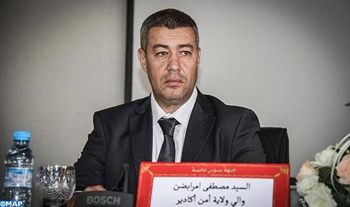 Installation du nouveau préfet de police d'Agadir