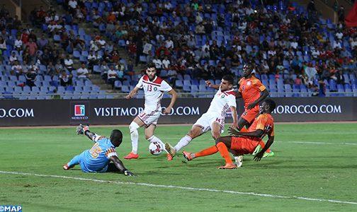 Amical : Les Lions de l'Atlas s'imposent 1-0 face au Niger