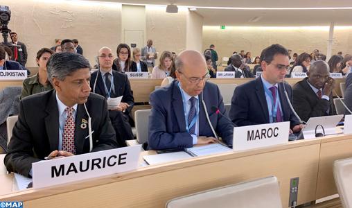 42ème session du CDH: Le Groupe de soutien à l'intégrité territoriale du Maroc met en avant la pertinence de l'initiative d'autonomie