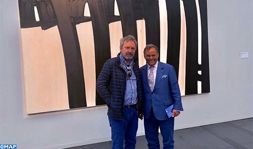Mehdi Qotbi promet des expositions de grands peintres français au Maroc
