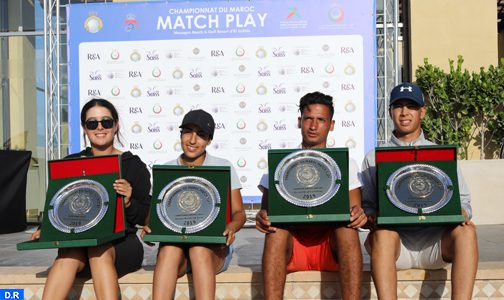 Golf: Bakri et Raouzi sacrés champions du Maroc