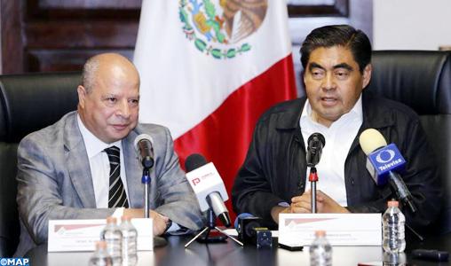 L'ambassadeur du Maroc à Mexico s'entretient avec des responsables politiques et universitaires mexicains