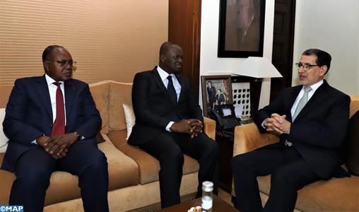 """La Côte d'Ivoire """"reconnaissante"""" du soutien constant du Maroc à ses programmes de développement"""