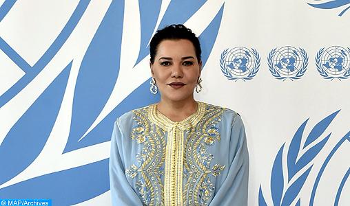 SAR la Princesse Lalla Hasnaa rencontre à New York la DG de l'UNESCO