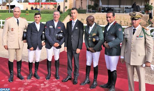 SAR le Prince Héritier Moulay El Hassan préside à Témara la cérémonie de remise du Grand Prix SM le Roi Mohammed VI du concours officiel de saut d'obstacles