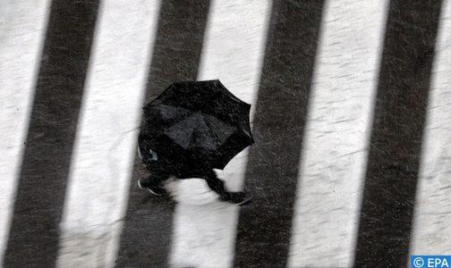 Pluies et averses orageuses localement fortes et chutes de neige du mercredi au vendredi dans plusieurs provinces du Royaume