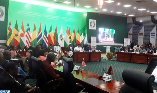 La Conférence de la CEDEAO décide de contribuer financièrement aux efforts communautaires de lutte contre le terrorisme