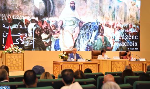 """Académie du Royaume du Maroc : Coup d'envoi d'un colloque international sur """"La palette marocaine d'Eugène Delacroix de 1832 à 1863"""""""