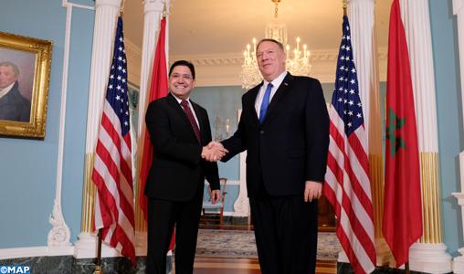 """Dialogue Stratégique Maroc-USA: Washington salue """"le leadership"""" de SM le Roi dans la promotion de """"réformes audacieuses et de grande portée"""""""