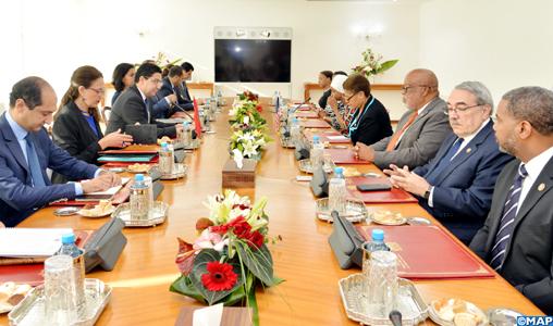 """Une délégation US """"très impressionnée"""" par les progrès considérables réalisés par le Maroc"""