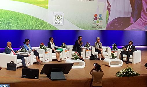 L'apport indéniable des femmes et des jeunes filles rurales à la transformation et au développement du monde agricole, a été, mardi, sous les feux des projecteurs, à l'occasion de la 2ème édition de
