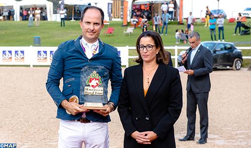 Morocco Royal Tour de saut d'obstacles (étape de Rabat): Le Brésilien Bernard Alves remporte le Prix Feue SAR la Princesse Lalla Amina