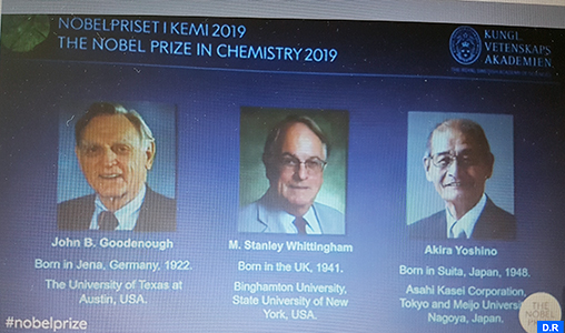 Le Nobel de Chimie 2019 à un trio allemand, britannique et japonais