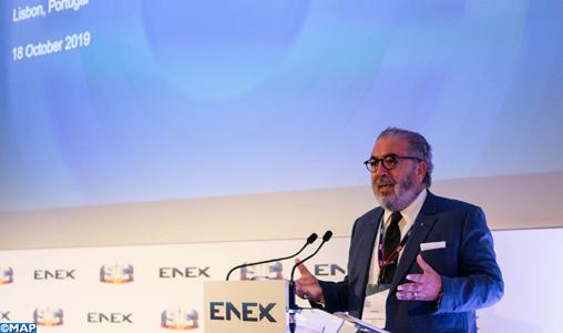M. Khalil Hachimi expose le nouveau modèle économique de la MAP devant les membres de l'AG d'ENEX
