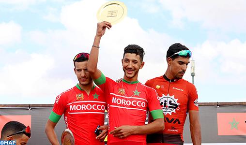 """Les coureurs cyclistes marocains dominent la première édition de """"L'Étape Morocco by Tour de France"""""""