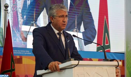 """Production alimentaire: Le Maroc a atteint """"un bon niveau"""" de couverture de ses besoins (M. Sadiki)"""