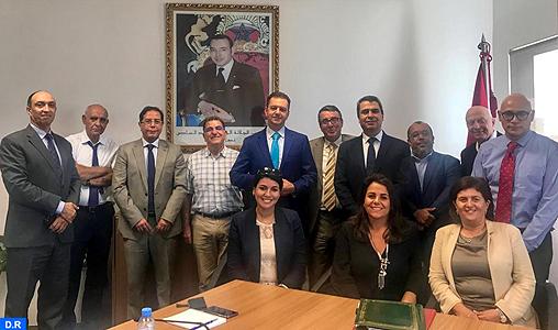 Signature d'une convention de partenariat scientifique entre le groupe ODM et l'UM6SS