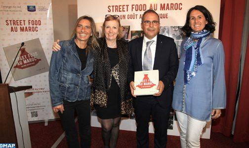 """Casablanca : Présentation de l'ouvrage """"Street food au Maroc, un goût authentique"""""""