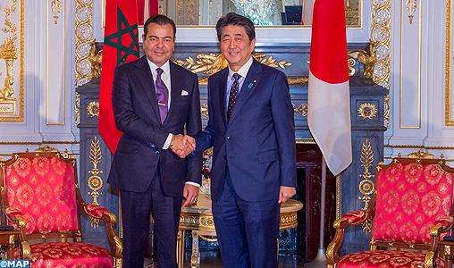 SAR le Prince Moulay Rachid s'entretient à Tokyo avec le Premier ministre japonais