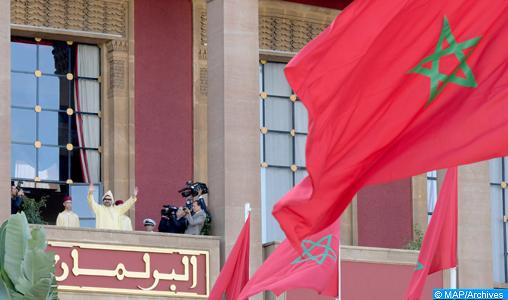 SM le Roi présidera vendredi l'ouverture de la première session de la 4ème année législative de la 10-ème législature