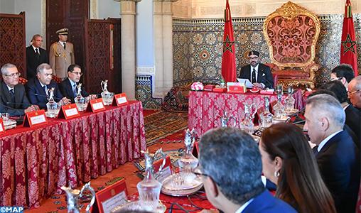 Sa Majesté le Roi préside à Rabat un Conseil des ministres