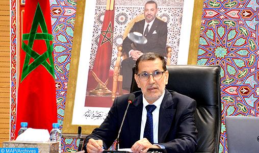 M. El Otmani exprime l'estime du Maroc à la position constante des Maldives en faveur de la cause nationale