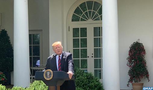 Ambiance délétère à Washington sur fond de tensions larvées entre Trump et le Congrès