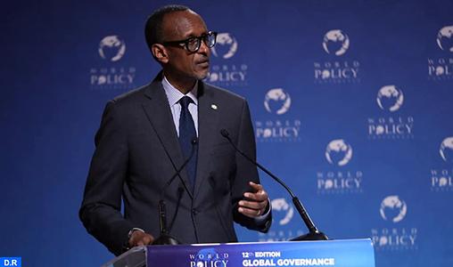 WPC 2019 : Le développement de l'Afrique relève de la responsabilité des Africains (Paul Kagame)