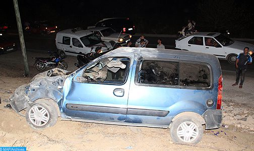 Marrakech: vehicle crashes, driver escapes (local authorities)