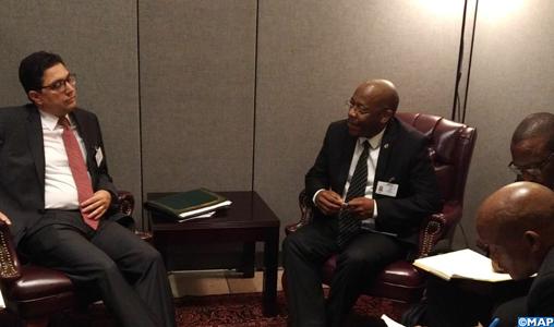"""Le Royaume du Lesotho décide de suspendre toutes ses déclarations et décisions antérieures concernant la pseudo """"rasd"""""""