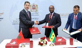 Signature à Marrakech d'un mémorandum d'entente entre les Ministères publics du Maroc et de Sao Tomé-et-Principe