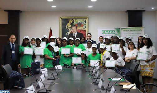 """Clôture à Rabat de la formation sur le """"Leadership féminin : besoins et stratégies des agences de presse africaines"""""""