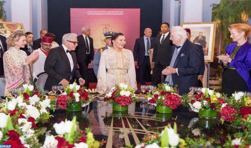 SAR la Princesse Lalla Hasnaa préside un dîner offert par SM le Roi à l'occasion de l'ouverture officielle de la 18è édition du Festival International du Film de Marrakech