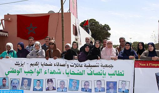 """9è anniversaire des événements de Gdeim Izik : Les familles et amis des victimes commémorent la mémoire des """"martyrs de la patrie"""""""