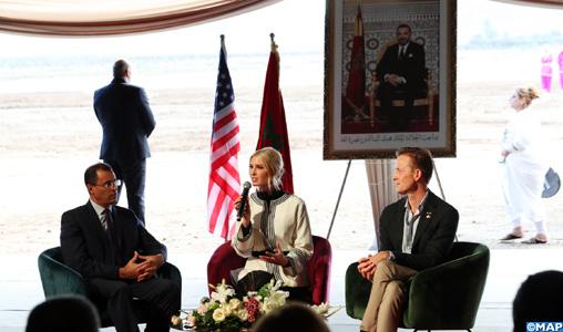 Ivanka Trump salue le leadership de Sa Majesté le Roi Mohammed VI (communiqué conjoint)
