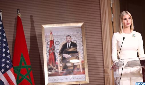 Communiqué conjoint adopté à l'issue de la visite de travail au Maroc de Mme Ivanka Trump, Conseillère du Président des Etats-Unis