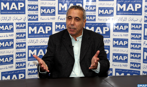 Face à la MAP: L'écrivain Kebir Ammi appelle à se départir de l'immobilisme pour refaire du Maghreb une terre de partage