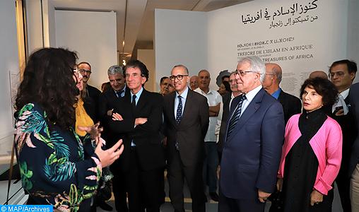 """La Biennale internationale d'art contemporain de Rabat et l'exposition """"Trésors de l'Islam en Afrique"""" dépassent la barre de 100.000 visiteurs (FNM)"""